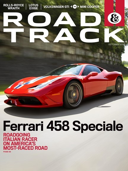 Road & Track Cover - 10/1/2014