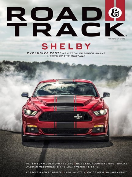 Road & Track Cover - 10/1/2015