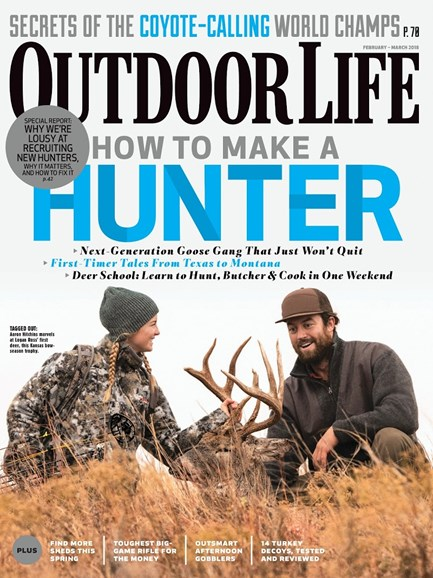Outdoor Life Cover - 2/1/2018