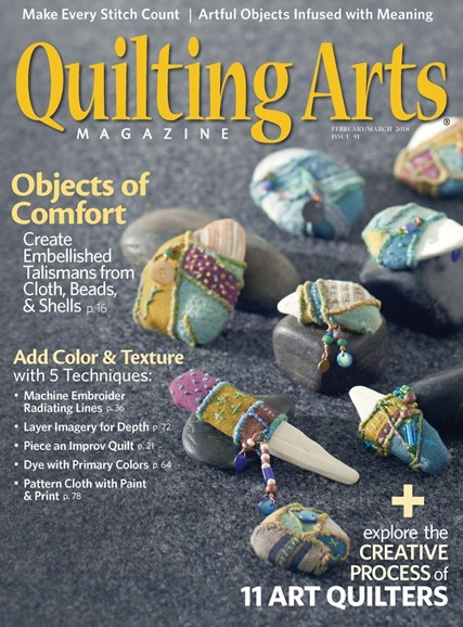 Quilting Arts Cover - 2/1/2018