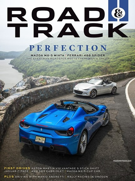 Road & Track Cover - 8/1/2016