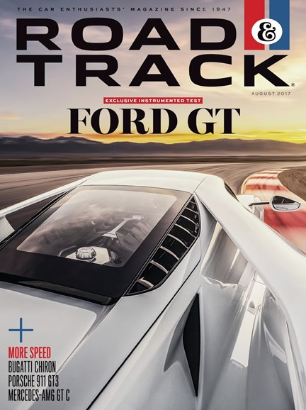 Road & Track Cover - 8/1/2017