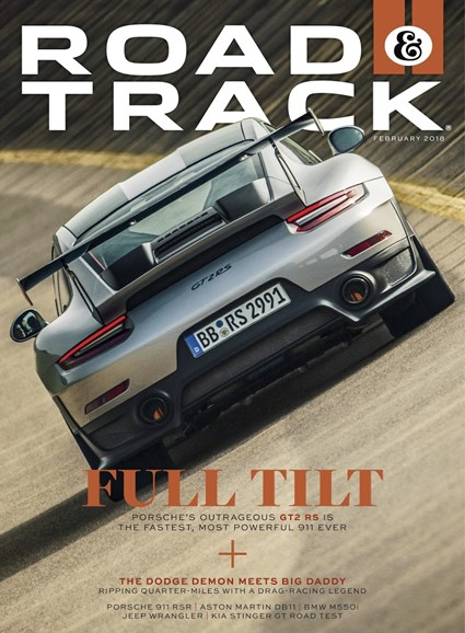 Road & Track Cover - 2/1/2018