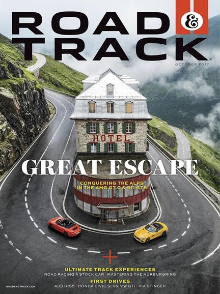 Road & Track Cover - 10/1/2017