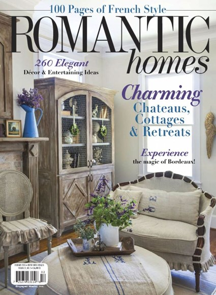 Romantic Homes Cover - 2/1/2018