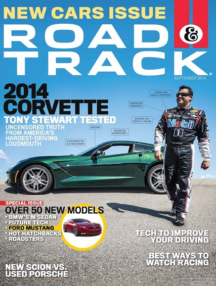Road & Track Cover - 9/1/2013