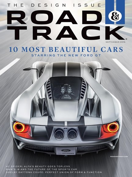 Road & Track Cover - 9/1/2015