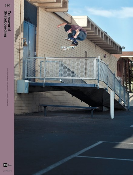 Transworld SKATEboarding Cover - 1/1/2018