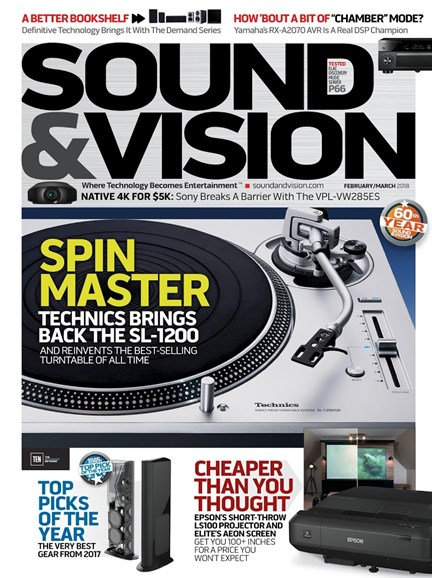 Sound & Vision Cover - 2/1/2018