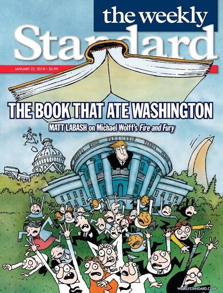 Washington Examiner Cover - 1/22/2018