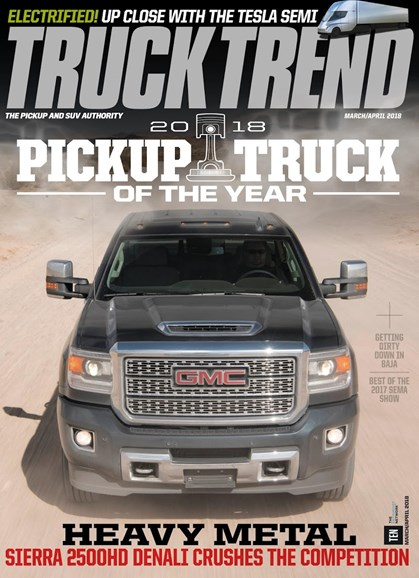 Truck Trend Cover - 3/1/2018