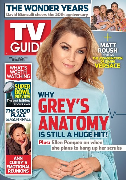 TV Guide Cover - 1/22/2018