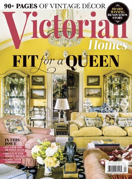 Victorian Homes Cover - 3/1/2018