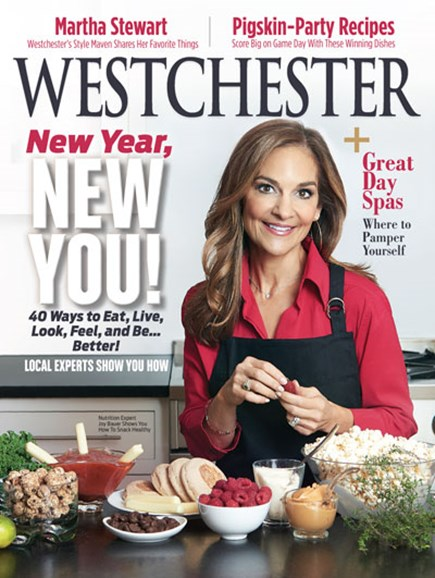 Westchester Magazine Cover - 1/1/2018