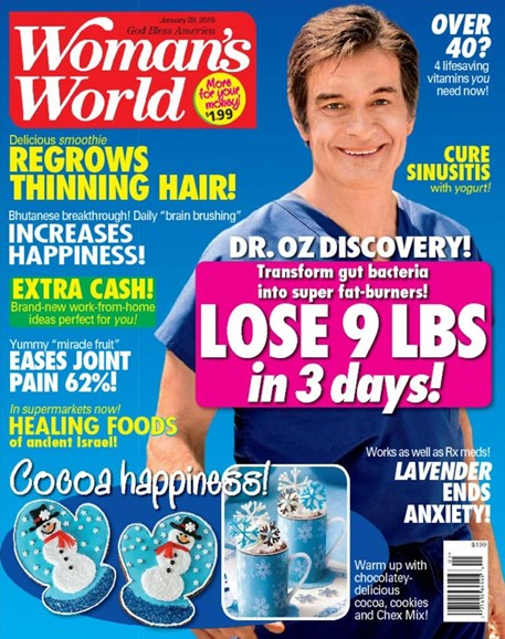 Woman's World Cover - 1/29/2018