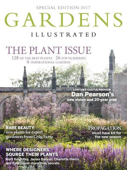 Gardens Illustrated Cover - 12/31/2017