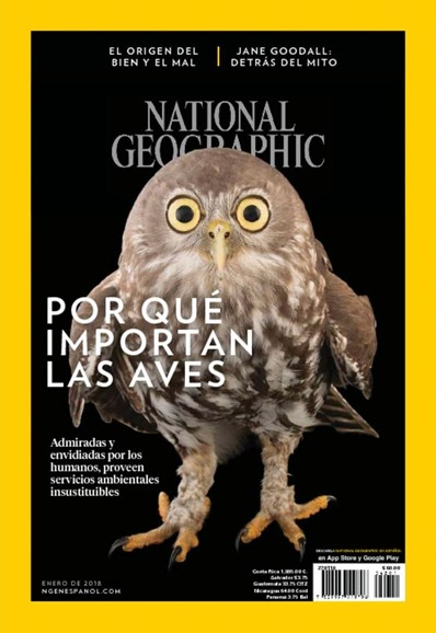 National Geographic En Español Cover - 1/1/2018