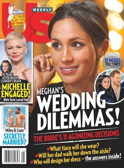 Us Weekly Cover - 1/29/2018