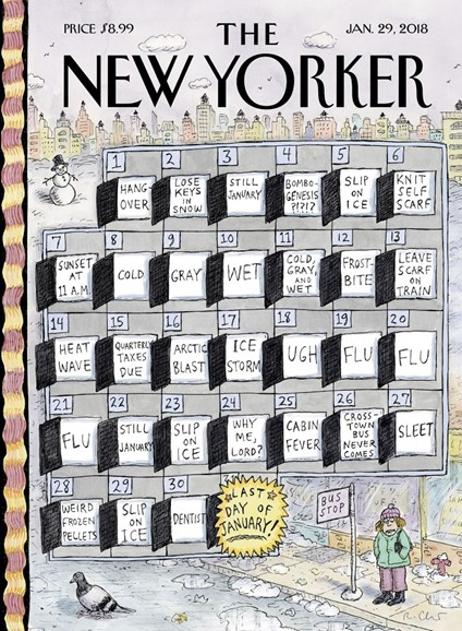The New Yorker Cover - 1/29/2018