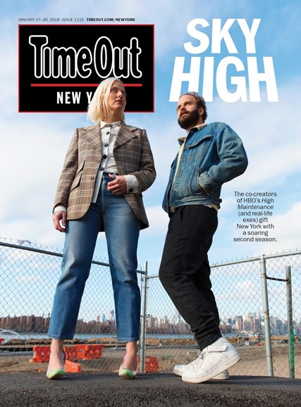 Time Out New York Cover - 1/17/2018