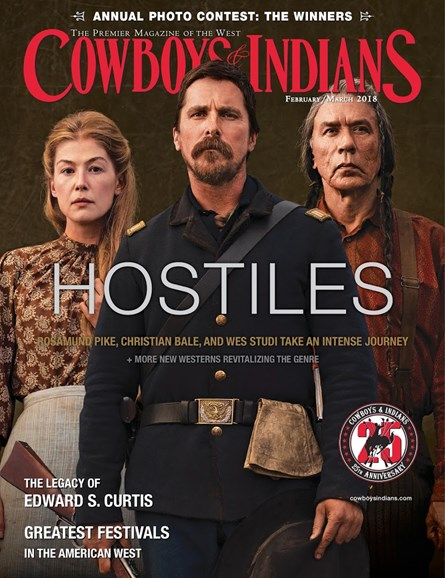 Cowboys & Indians Cover - 2/1/2018