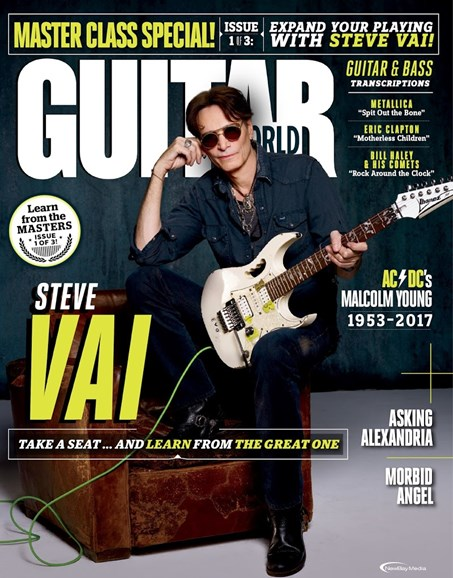 Guitar World Cover - 2/1/2018