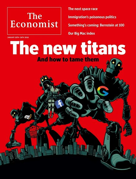 The Economist Cover - 1/20/2018
