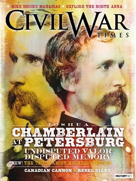 Civil War Times Cover - 4/1/2017