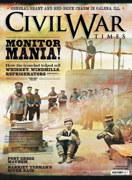 Civil War Times Cover - 2/1/2017