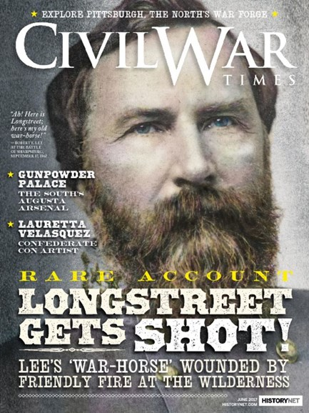 Civil War Times Cover - 6/1/2017