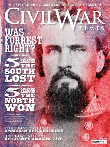Civil War Times Cover - 4/1/2016