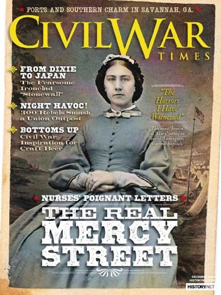 Civil War Times Cover - 12/1/2016