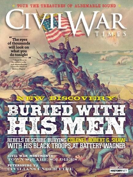 Civil War Times Cover - 2/1/2016