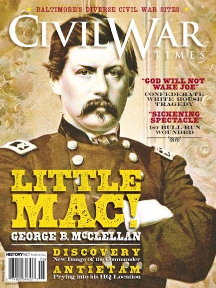 Civil War Times Cover - 6/1/2016