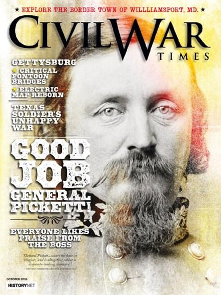 Civil War Times Cover - 10/1/2016