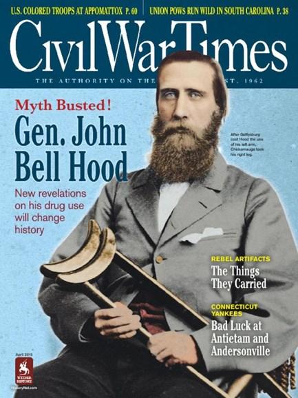 Civil War Times Cover - 4/1/2015