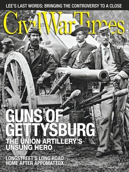 Civil War Times Cover - 8/1/2015