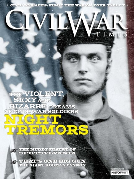 Civil War Times Cover - 12/1/2015