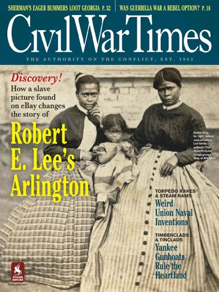 Civil War Times Cover - 2/1/2015