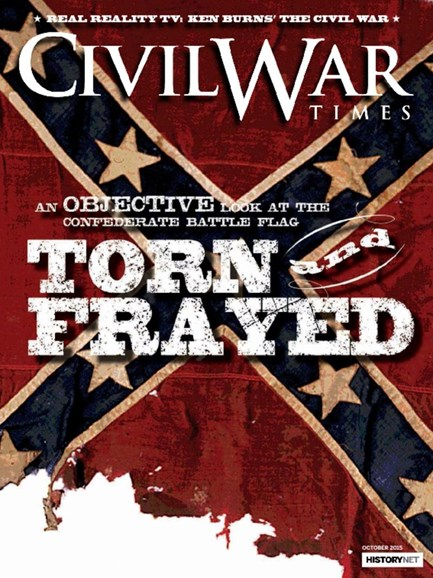 Civil War Times Cover - 10/1/2015