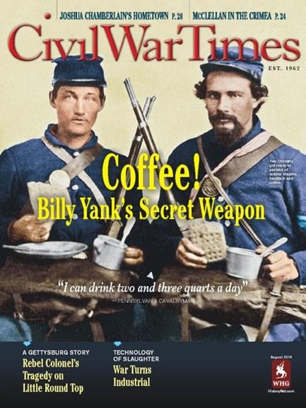 Civil War Times Cover - 8/1/2014