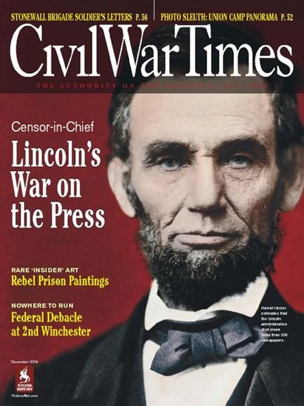 Civil War Times Cover - 12/1/2014