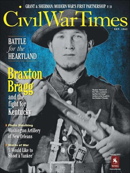 Civil War Times Cover - 2/1/2014