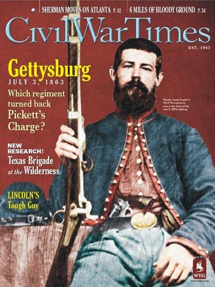 Civil War Times Cover - 6/1/2014