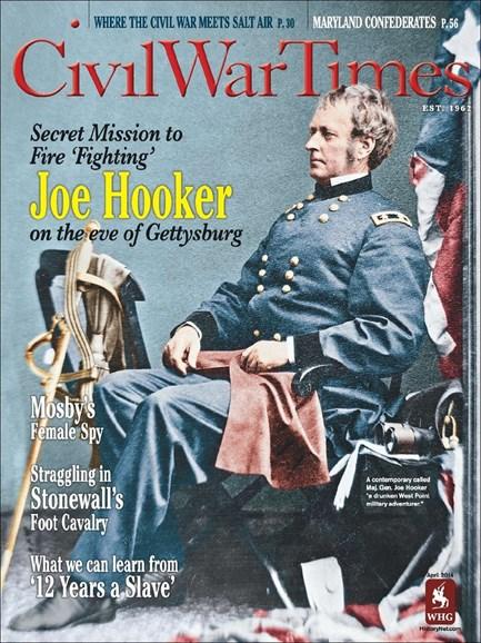 Civil War Times Cover - 3/1/2014