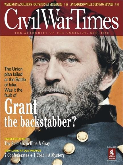 Civil War Times Cover - 10/1/2014