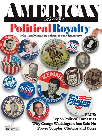 American History Cover - 4/1/2016
