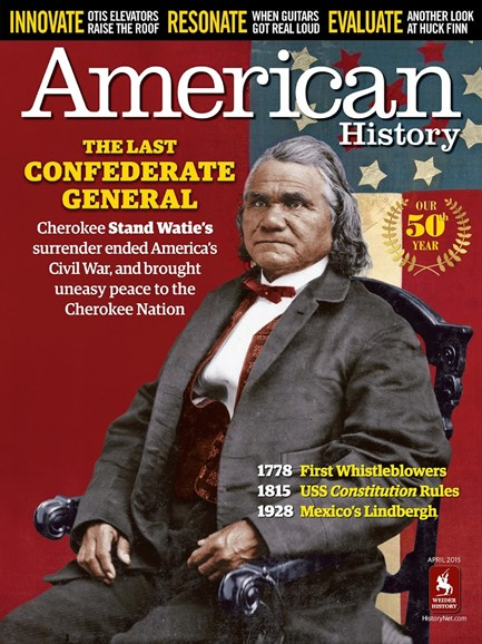 American History Cover - 4/1/2015