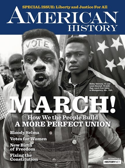 American History Cover - 12/1/2015