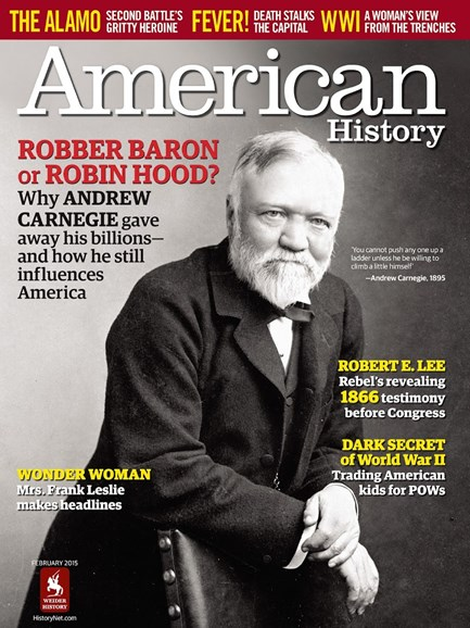 American History Cover - 2/1/2015